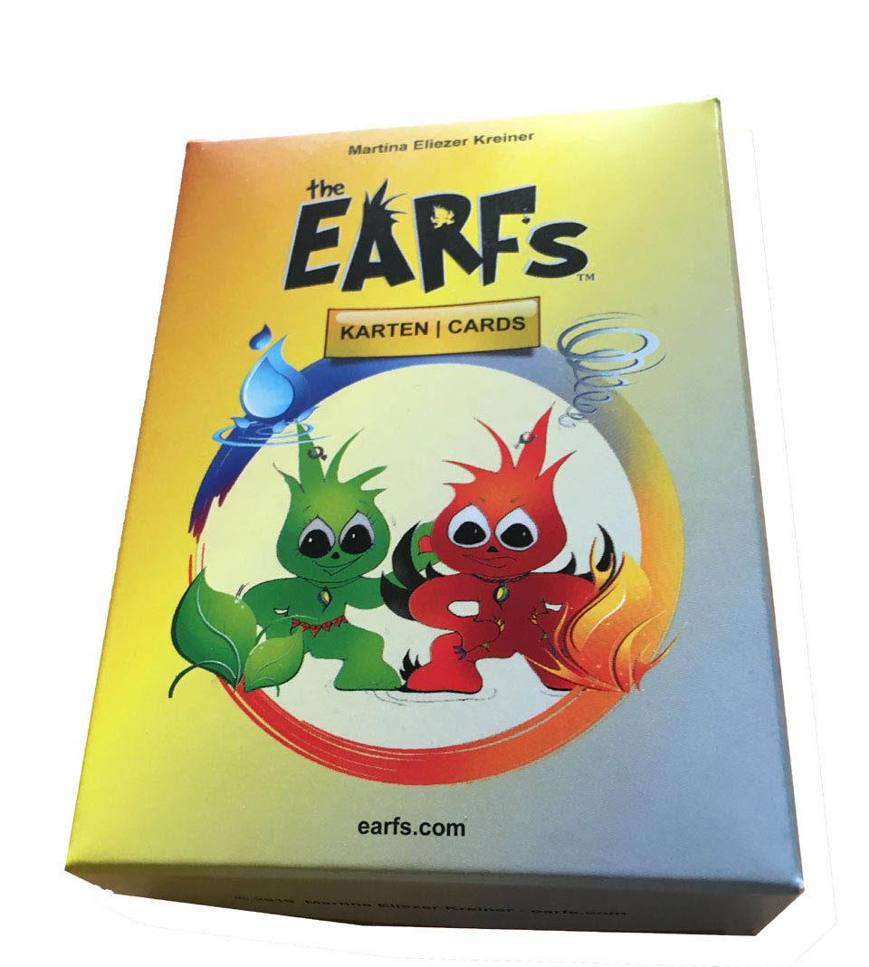 Earfs Karten Schachtel - Kinderängste Grundschule - Persönlichkeitsentwicklung Kinder - Selbstwert stärken und glückliche Kinder