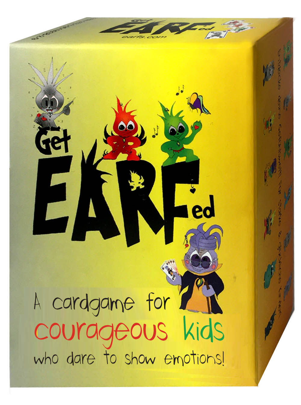 Self-confidence for children: Get Earfed cardgame