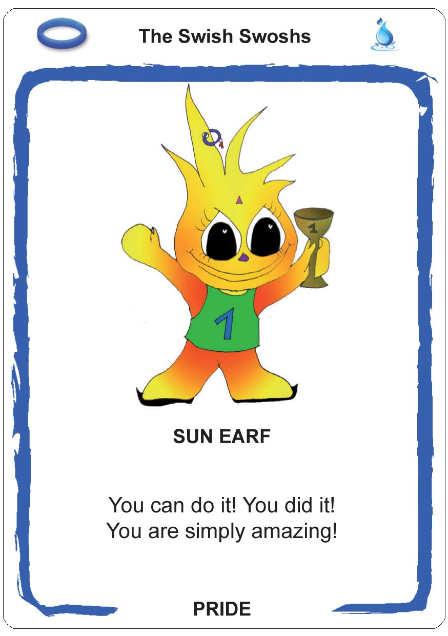 self-confidence for children - earfs - sun earfcards